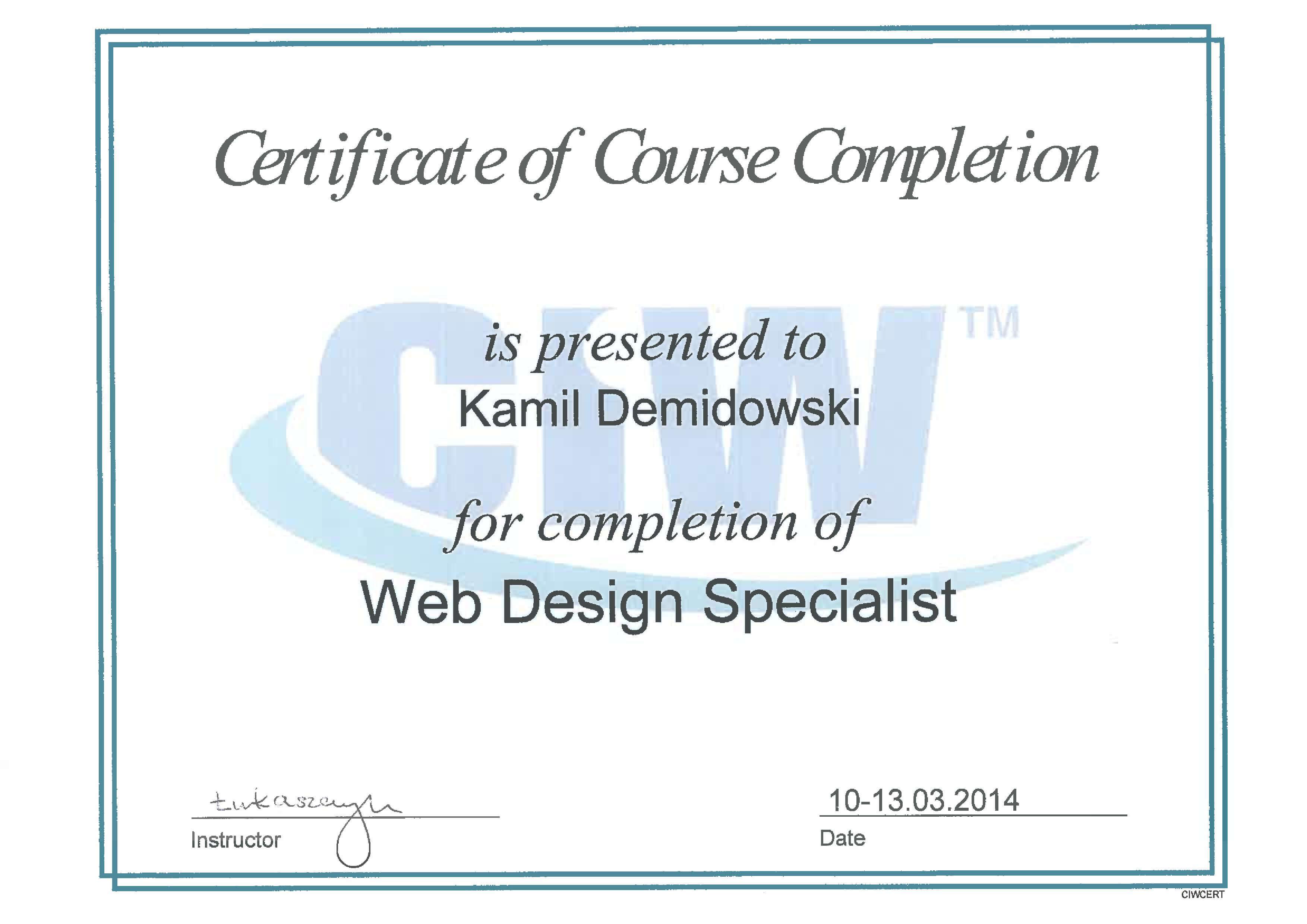 kamil-demidowski-web-design-specialist-CIW