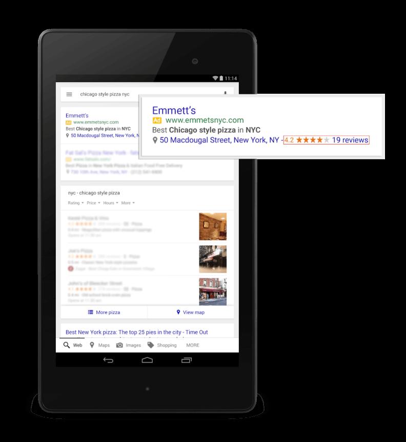 google adwords reklama na urządzeniach mobilnych