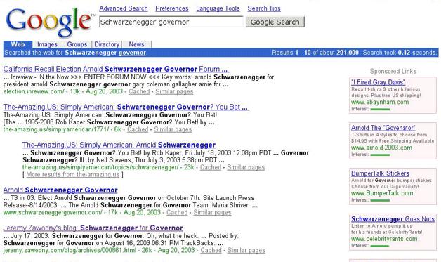 zmiany w google adwords 2003