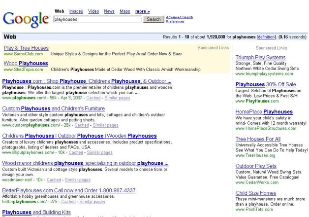 zmiany google adwords 2007