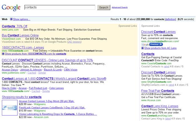 zmiany google adwords 2009